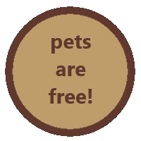 pets are free